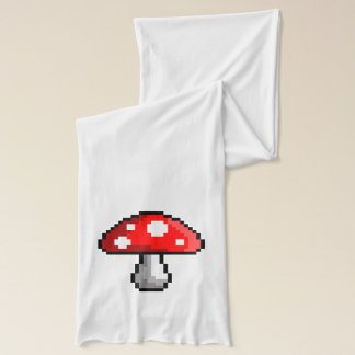 Pixel Mushroom Scarf