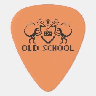 Pixel Old School Dinosaur Guitar Pick