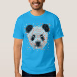 Pixel Panda Geek Tee Shirts