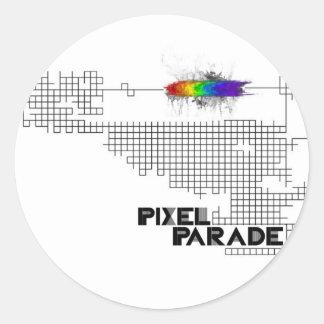 """Pixel Parade """"analog"""" sticker"""