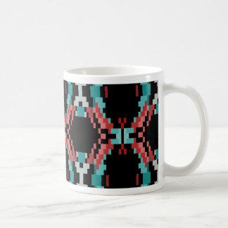 Pixel Pattern Coffee Mug