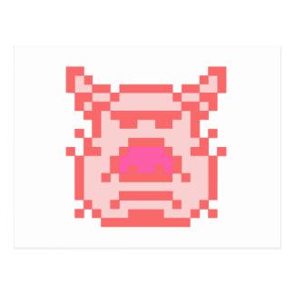 Pixel Pig Postcards