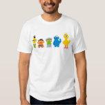 Pixel Sesame Street Characters T Shirts