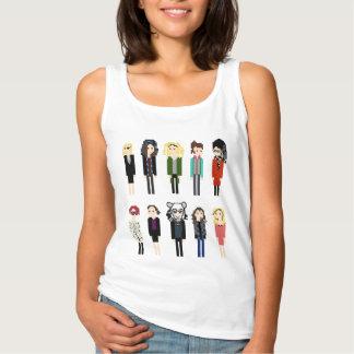 Pixel Sestras Shirt - 10 Vertical - Orphan Black
