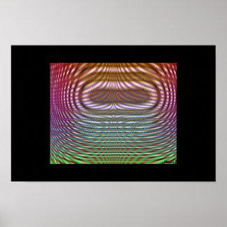 Pixel-shaded Spotlight Poster
