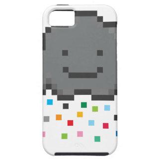 pixel-shower-cloud-multicolour.png iPhone 5 case