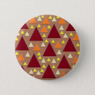 pixel snow topped fall mountain ranges 6 cm round badge