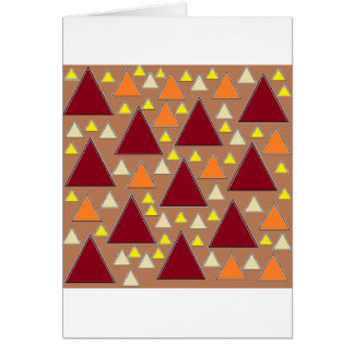 pixel snow topped fall mountain ranges card
