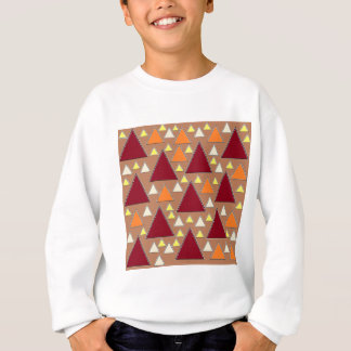 pixel snow topped fall mountain ranges sweatshirt