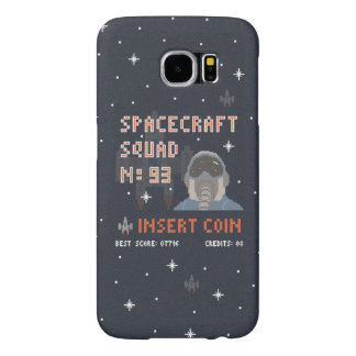 Pixel Space Squad Samsung Galaxy S6 Case Samsung Galaxy S6 Cases