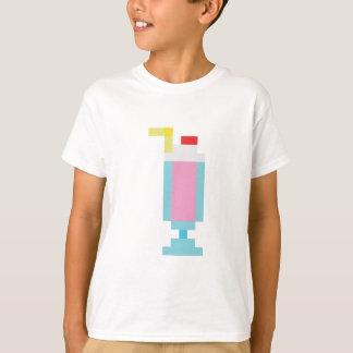 Pixel strawberry milkshake t shirt