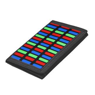 Pixel Tri-fold Wallets