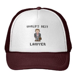 Pixel World's Best Lawyer Hat