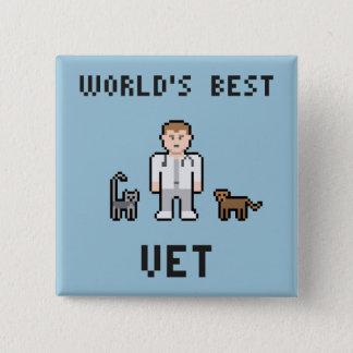 Pixel World's Best Vet Button