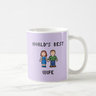 Pixel World's Best Wife Mug