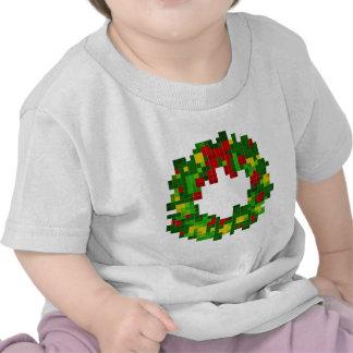 Pixel Wreath Tshirts