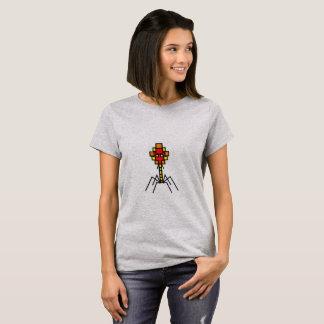 Pixelated Bacteriophage T Shirt