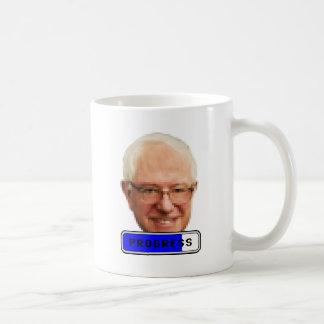 Pixelated Bernie Sanders - PROGRESS Coffee Mug