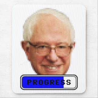 Pixelated Bernie Sanders - PROGRESS Mouse Pad