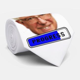 Pixelated Bernie Sanders - PROGRESS Tie