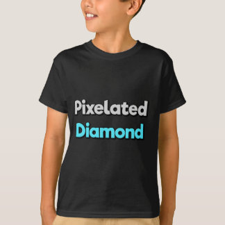 Pixelated Diamond Merch T-Shirt