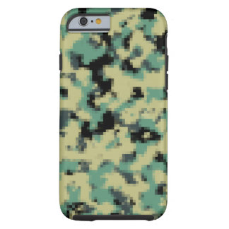 Pixelated iPhone Case Army