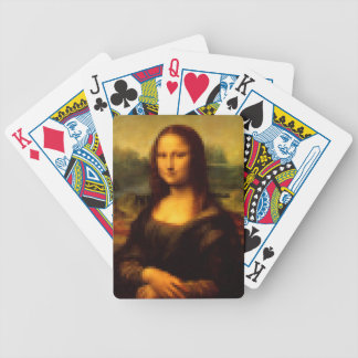 Pixelated Mona Lisa Poker Deck