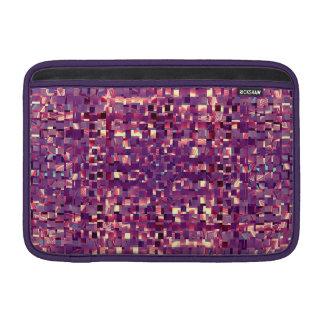 Pixelated Purple Sleeve Sleeves For MacBook Air