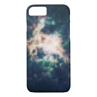 Pixelated Space Nebula iPhone 7 Case