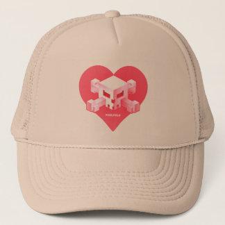 Pixelfield Game | Heart-Shaped Logo Hat