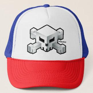 Pixelfield Game | Radical Skull Logo Hat