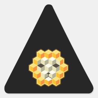 PixeLion Triangle Sticker
