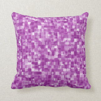 Pixels pattern cushion