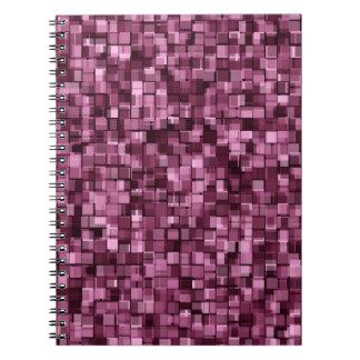 Pixels pattern notebook