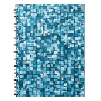 Pixels pattern notebooks