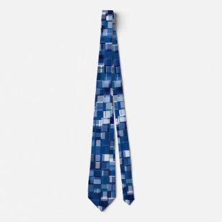 Pixels pattern tie
