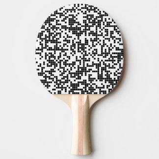 pixels ping pong paddle