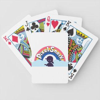 PixelSnark Logo Bicycle Playing Cards