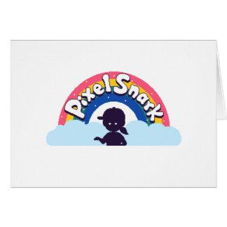 PixelSnark Logo Card