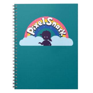 PixelSnark Logo Spiral Notebook