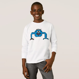 Pixemon Long-sleeved Boys Shirt