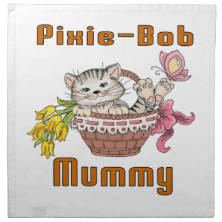 Pixie-Bob Cat Mom Napkin