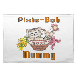 Pixie-Bob Cat Mom Placemat