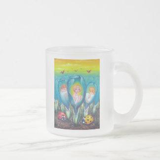Pixie Farm Frosted Glass Coffee Mug