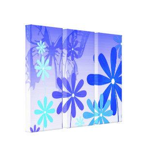 Pixie Flower Butterflies 3 Canvas Print