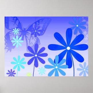 Pixie Flower Butterflies 3 Poster