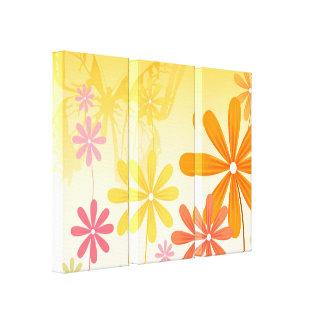 Pixie Flower Butterflies Canvas Print