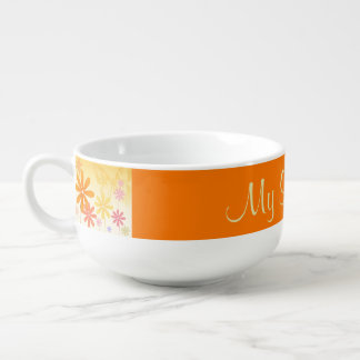 Pixie Flower Butterflies Soup Mug