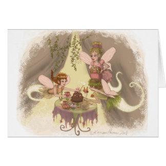 Pixie Tea Party Card