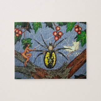 Pixies Have Bad Days Too! art Puzzel Jigsaw Puzzle